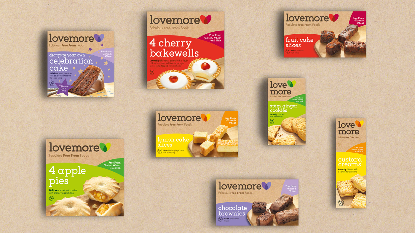 Lovemore product lineup