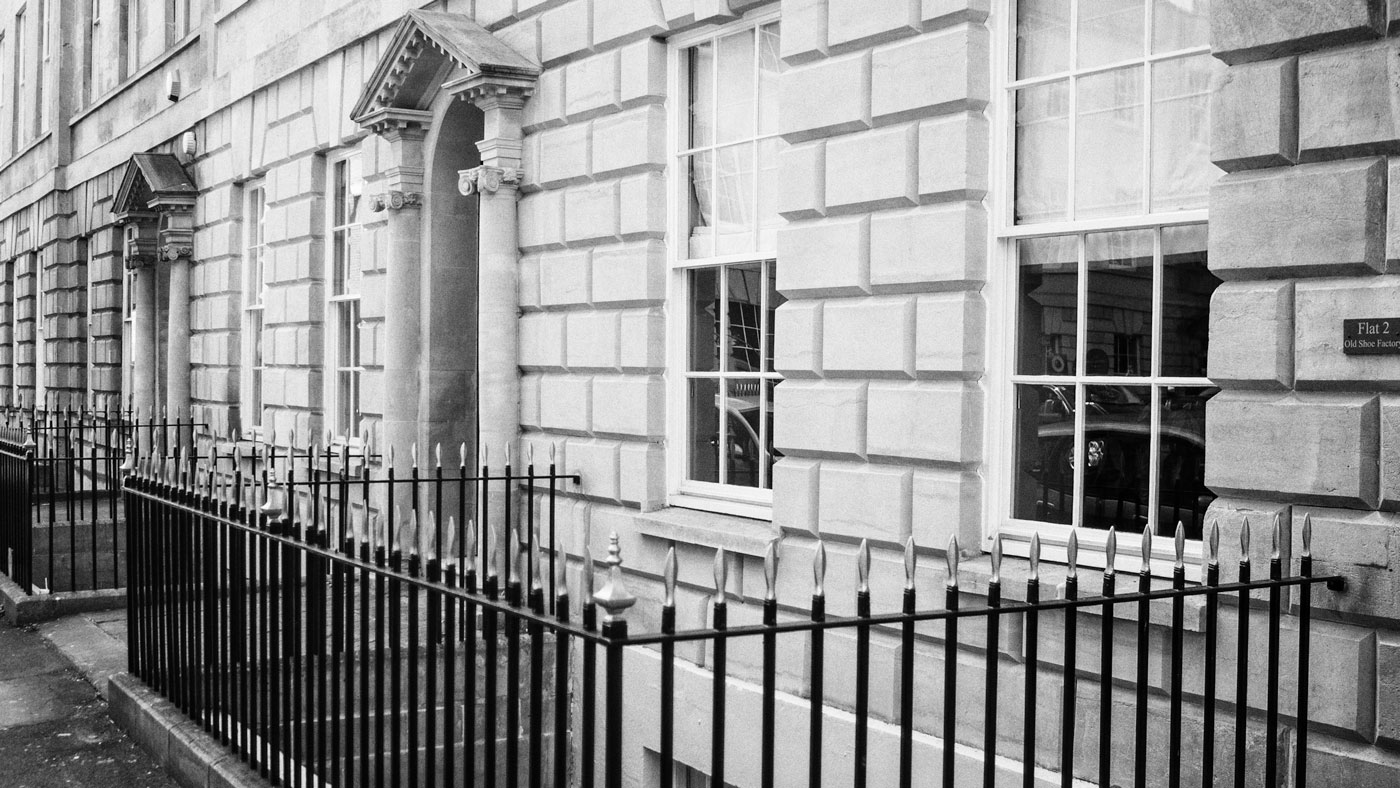 Building railings detail
