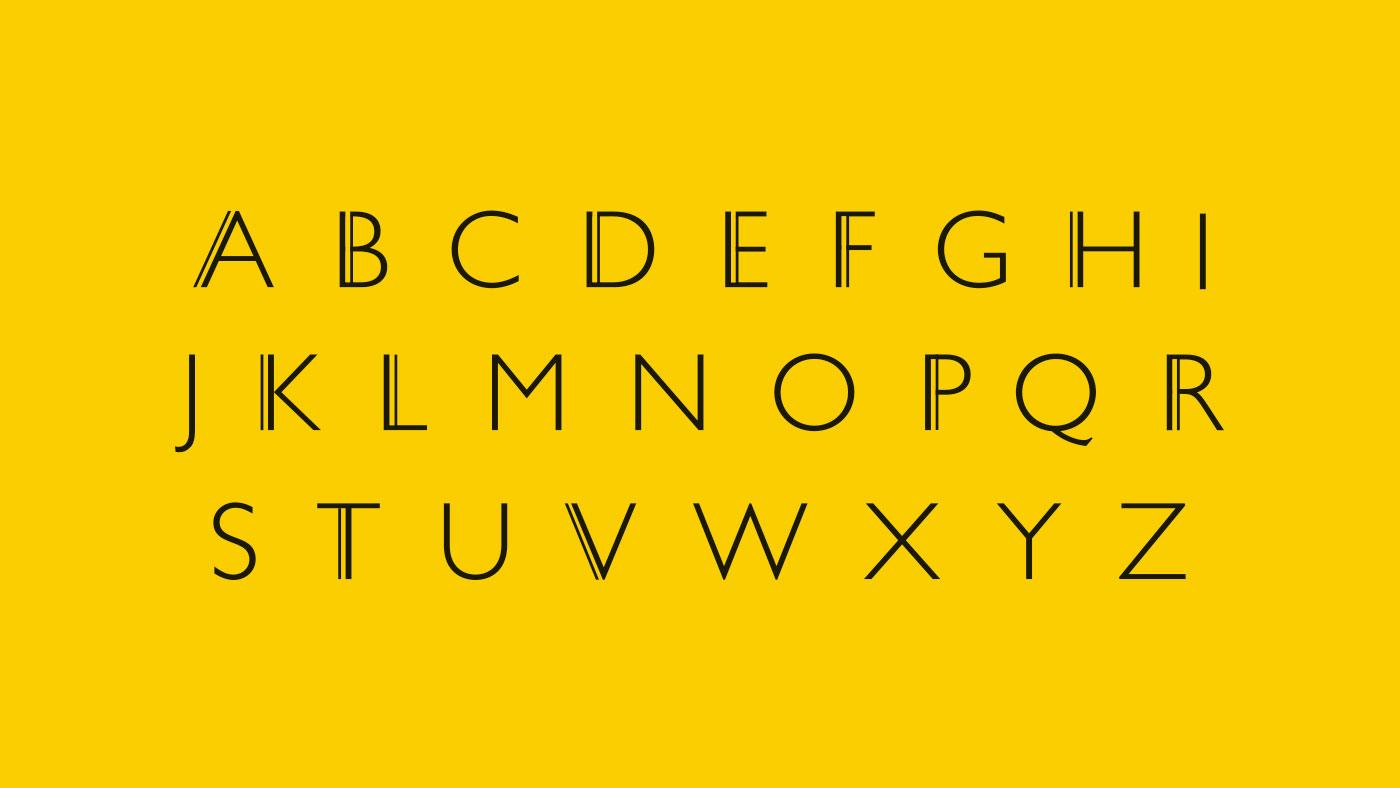Old Shoe Factory custom typeface design