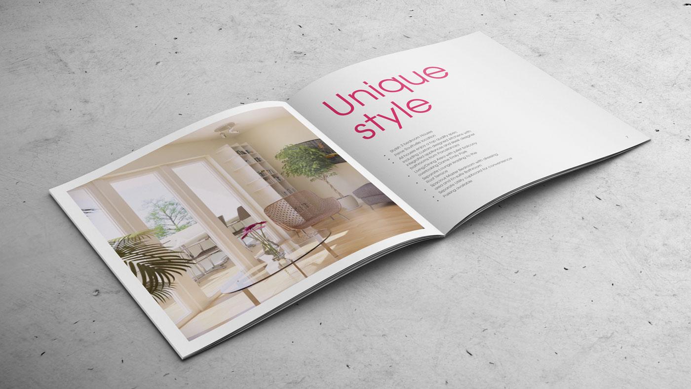 The Edge brochure inside spread
