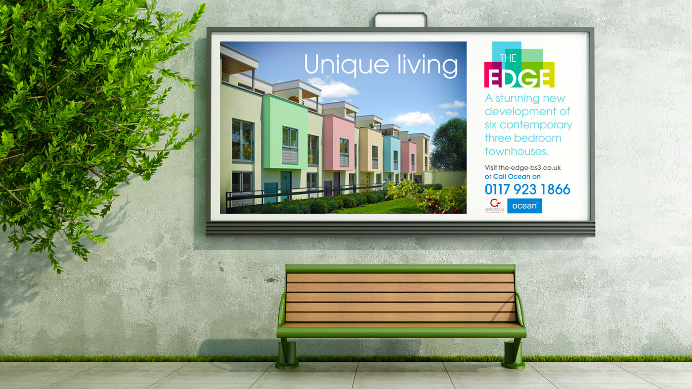 Unique living The Edge Signage