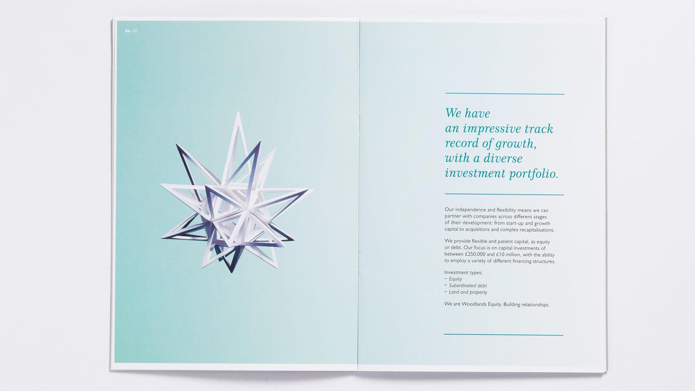 Woodlands Equity brochure inside page