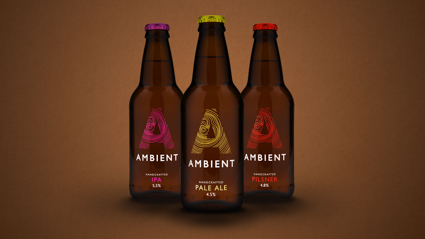 Ambient bottle range packaging design photo