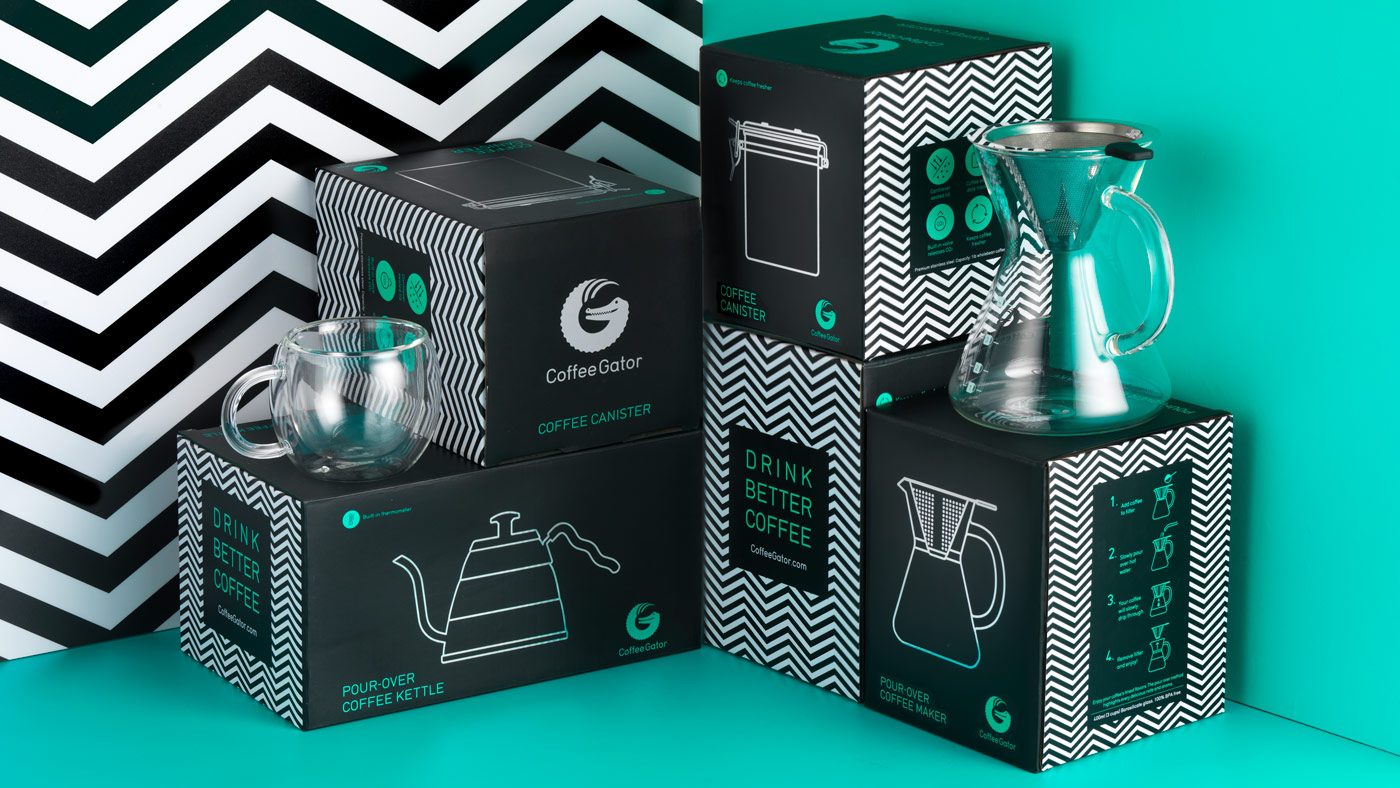 Coffee Gator Packaging Shot