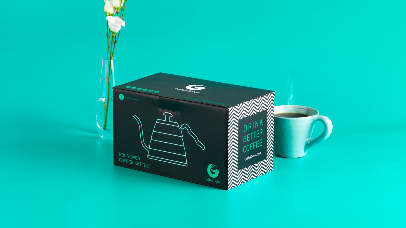 Photo of Coffee Gator packaging