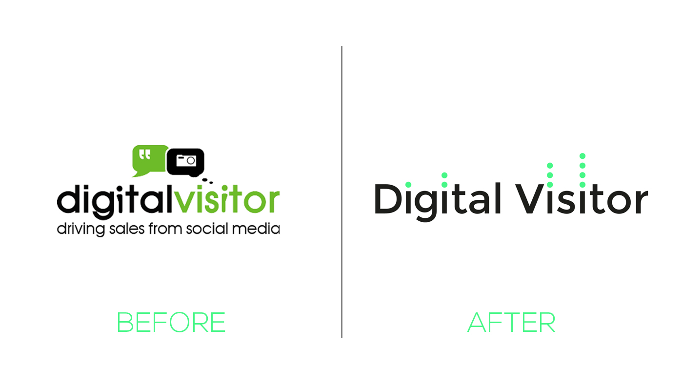 Digital Visitor Before and After