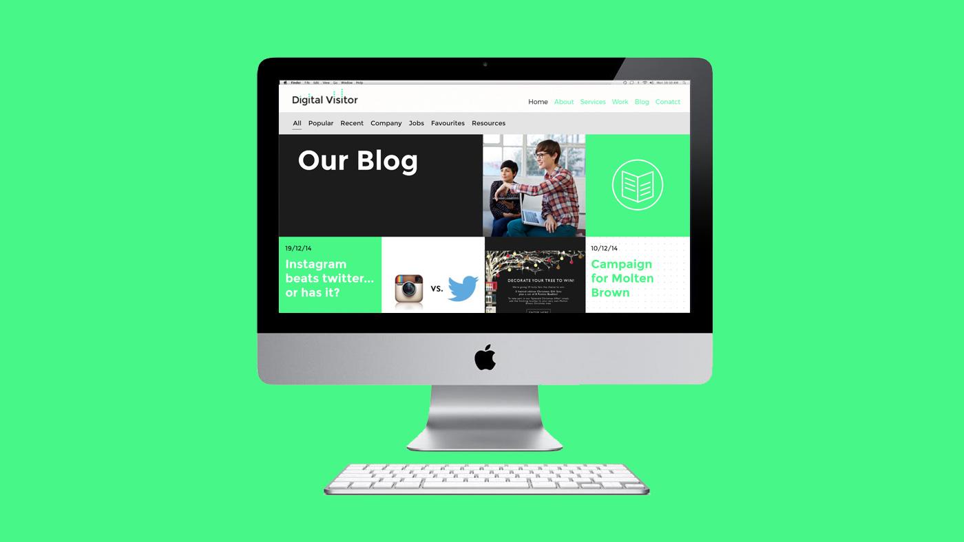 Digital Visitor web screen 3