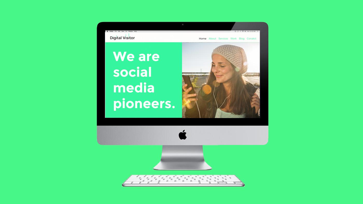 Digital Visitor web screen 2