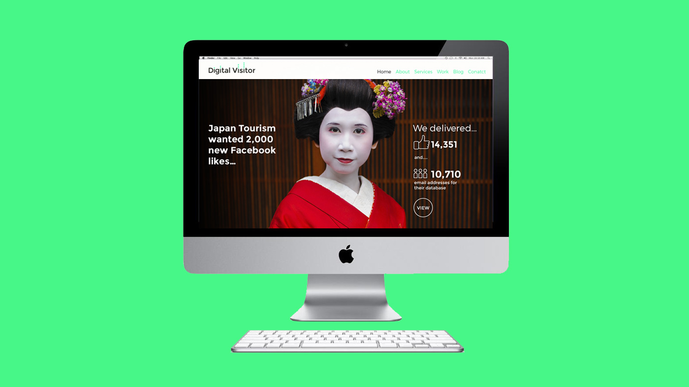 Digital Visitor web screen 4