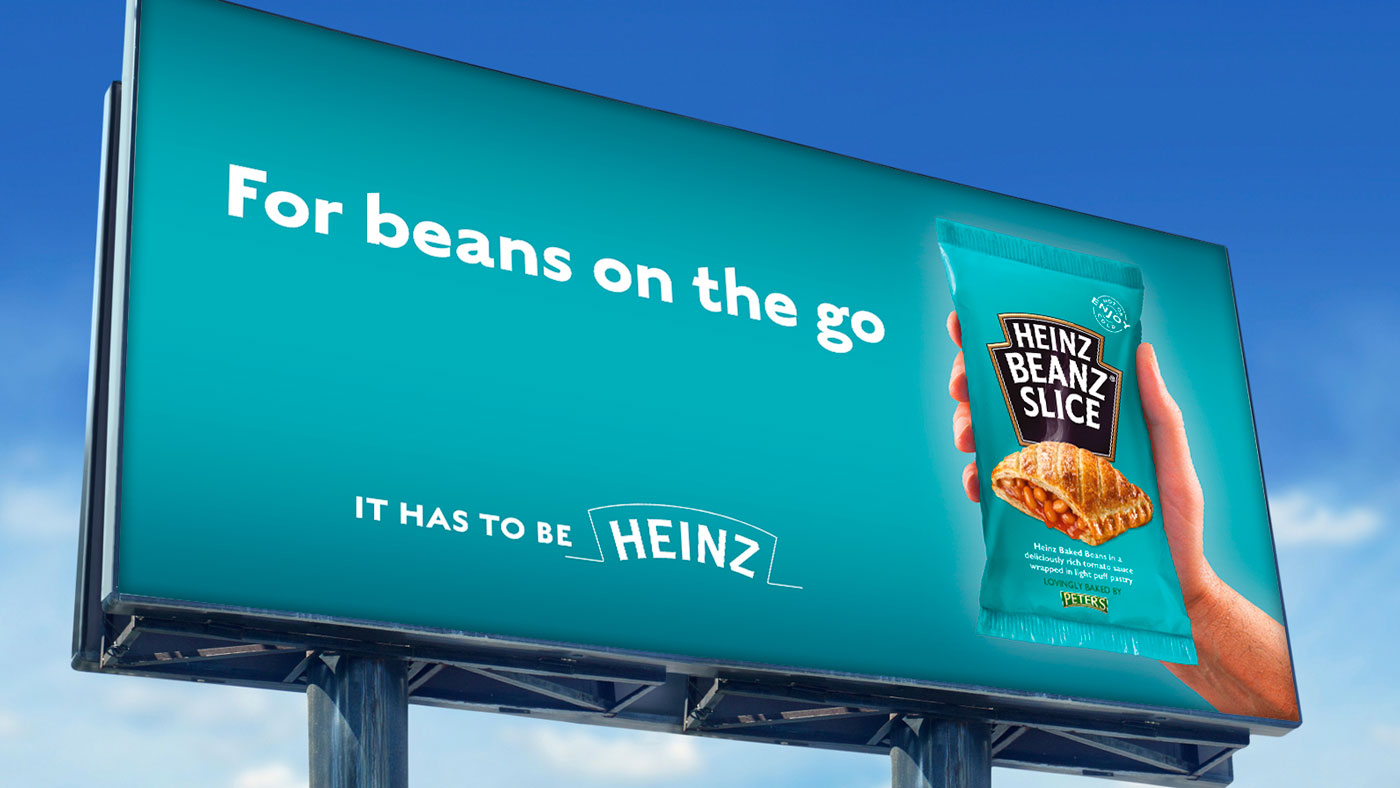 Heinz creative on billboard