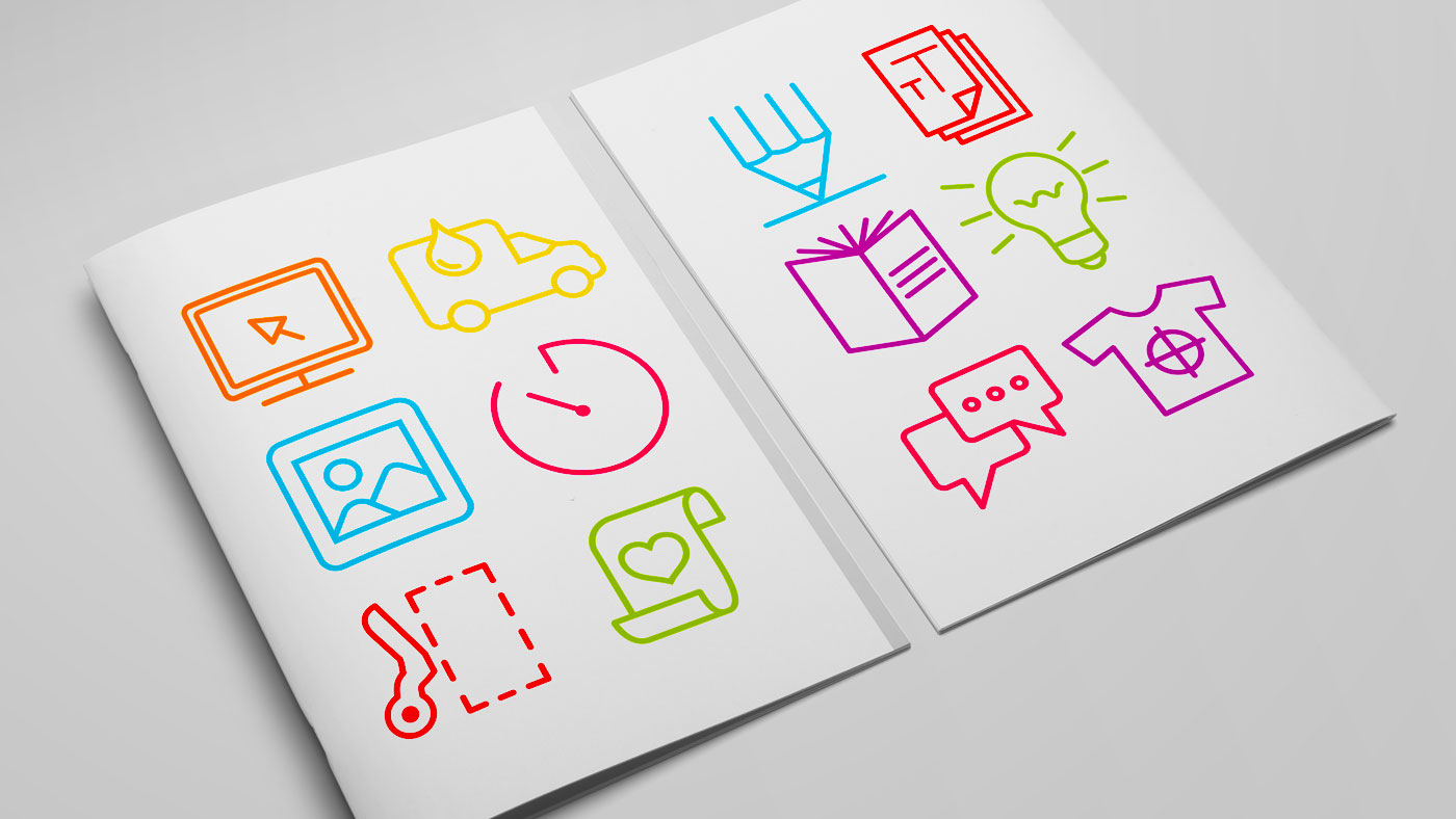 Touch icon design