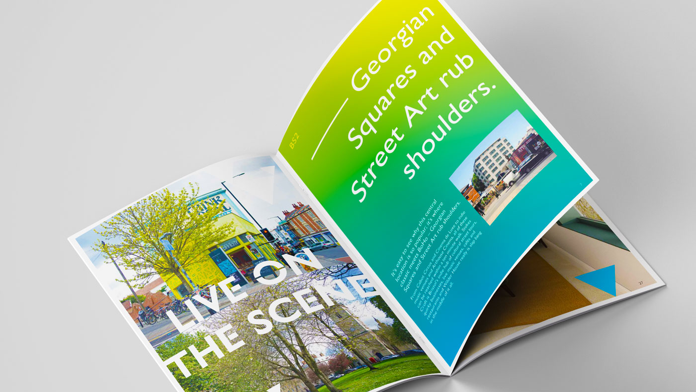 Wilder House brochure inside spread