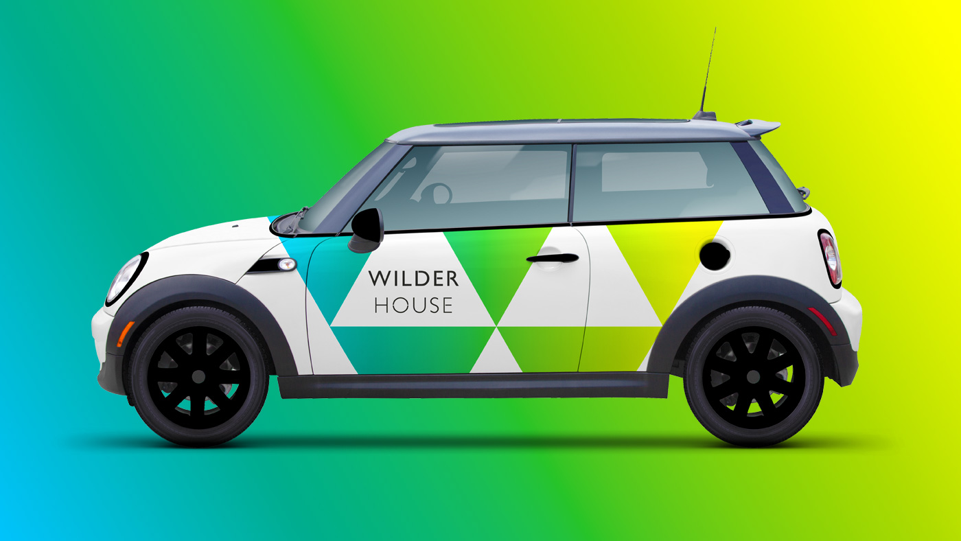 Wilder House branded car